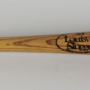 Montreal Expos John Vanderual Game-Used Louisville Slugger P72 Bat