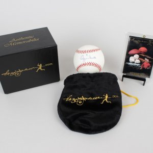 St. Louis Cardinals Ozzie Smith Signed & Inscribed (#1) Baseball - (COA Reggie Jackson)