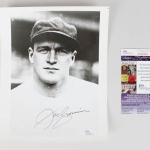 Boston Red Sox - Joe Cronin Signed 8x10 Photo - COA JSA