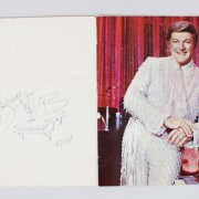 Las Vegas Entertainer - Liberace Signed Concert Program & Unsigned Program (JSA)