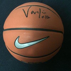 Anderson Varejao Autographed Mini-Basketball