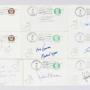 Mega Baseball Postcard Signed Collection (84) - Ron Santo, Andre Dawson, Earl Weaver etc. - JSA