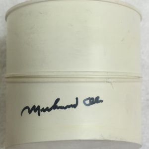 Muhammad Ali signed 1970's Bradley Watch Case