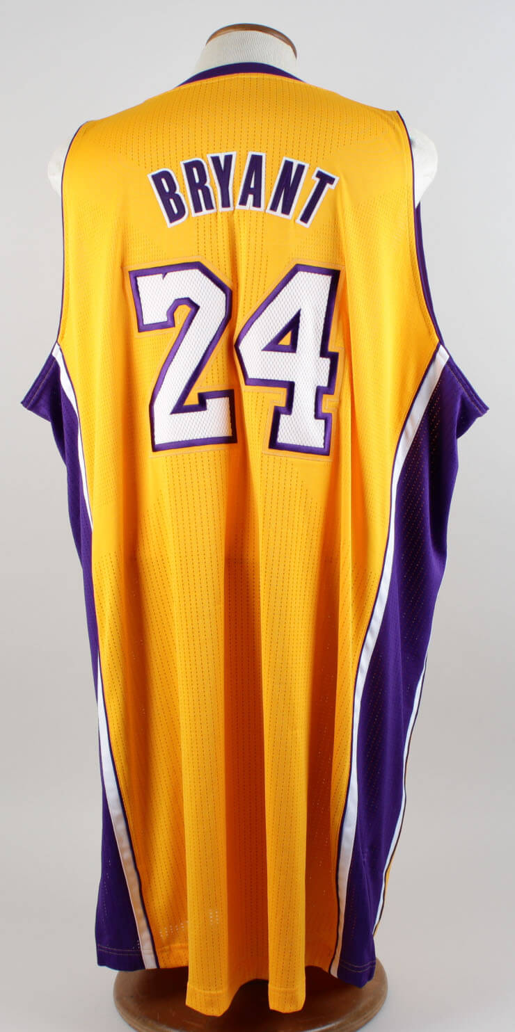05f2217f2 2011-12 Los Angeles Lakers – Kobe Bryant Game-Worn Home Jersey (Covell LOA)