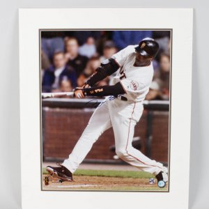 Barry Bonds SF Giants  Signed 16x20 Color Photo - Bonds Hologram