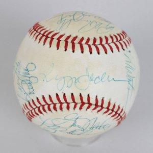 Cleveland Indians Bob Feller Signed & Inscribed Baseball