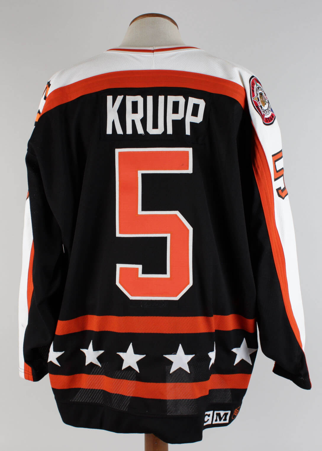 1990-91 NHL All Star Game – Uwe Krupp Game-Worn Hockey Jersey (100%  Authentic LOA a60489d5a97
