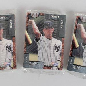 1992 Gulf Coast Yankees Team Fleer Pro Cards Set Lot of (3) Feat. Derek Jeter