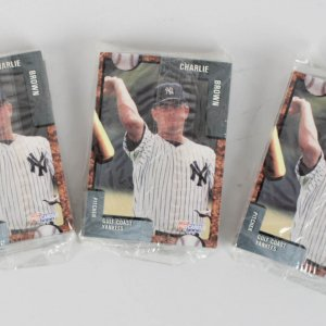 1992 Gulf Coast Yankees Team Fleer Pro Cards Set Lot of (3) Feat. Derek Jeter