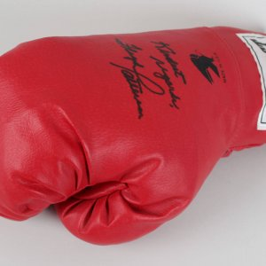 Floyd Patterson Signed & Inscribed Boxing Glove