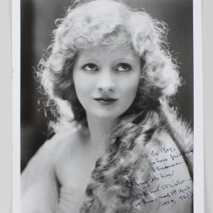 Silent Star - Mary Miles Minter Signed & Inscribed 8x10 Photo - JSA Full LOA