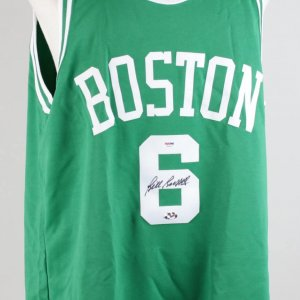 Boston Celtics - Bill Russell Signed Autographed Jersey (PSA/DNA COA)