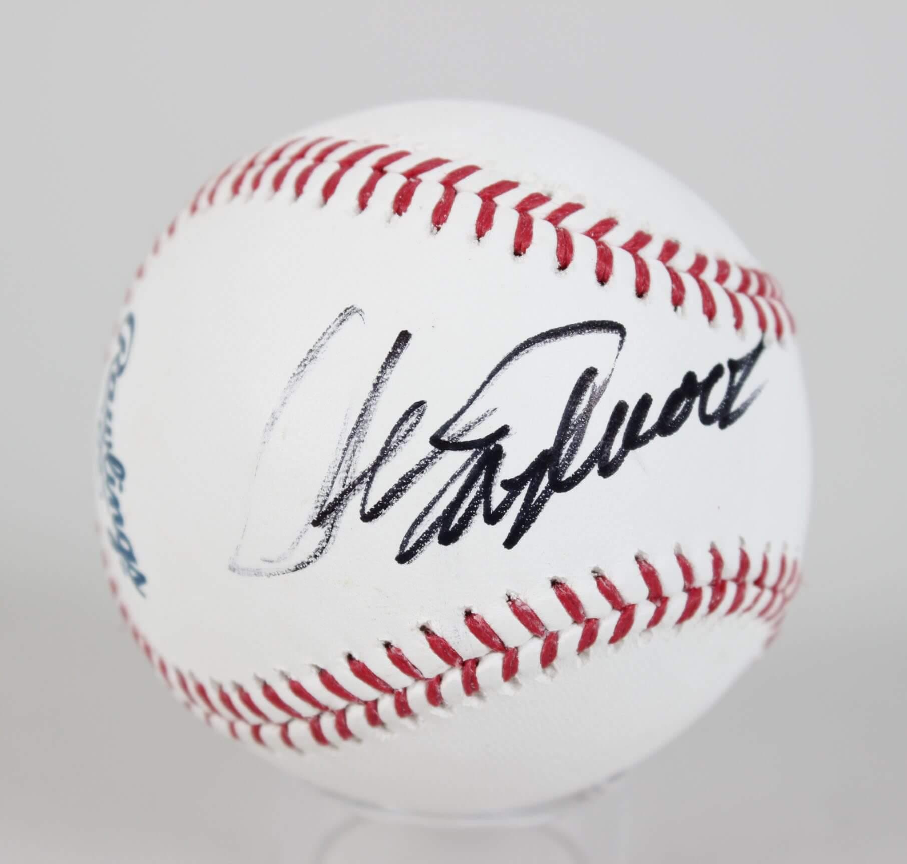 Clint Eastwood Signed OML Baseball - COA JSA