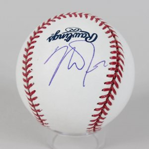 Los Angeles Angels - Mike Trout Signed Baseball (JSA Full LOA)