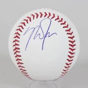 Los Angeles Angels - Mike Trout Signed OML Baseball - JSA Full LOA