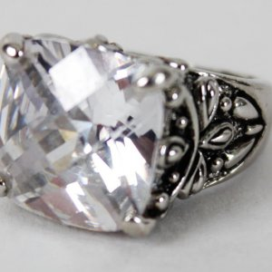 Warrant Rock Band - Jani Lane Personal Zirconia Diamond Ring (Provenance LOA )