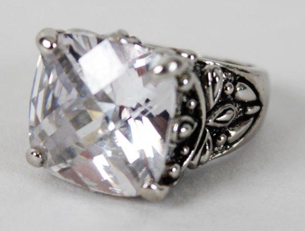 Warrant Rock Band-Jani Lane's Personal Zirconia Diamond Ring-Provenance ex-Wife Bobbie Brown