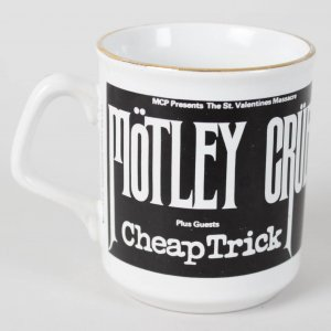 Motley Crue Rock Band - Vince Neil Personal Tour Used Coffee Cup (Provenance LOA)