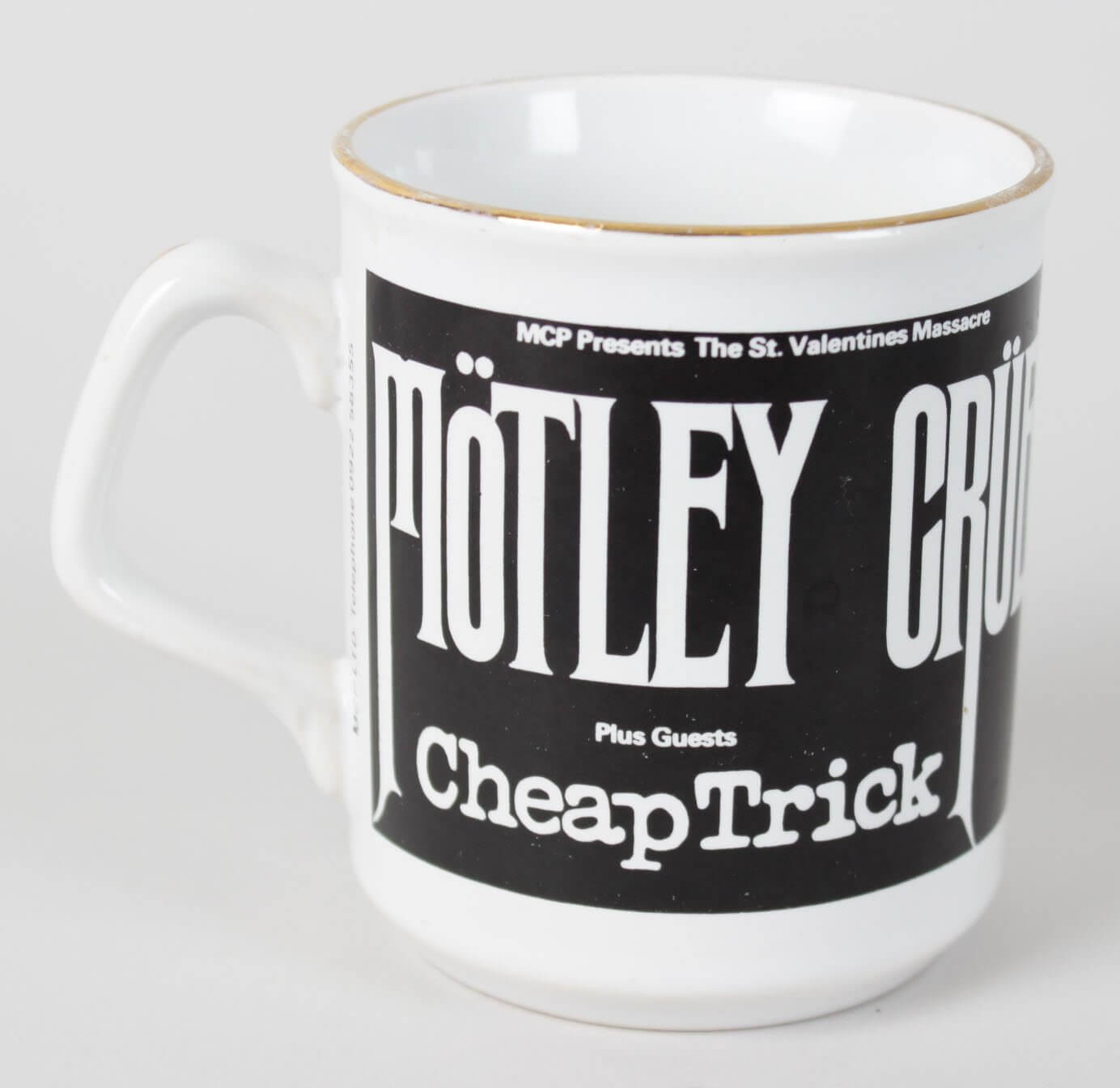 Motley Crue's Vince Neil's Personal Tour Used Coffee Cup51083_01