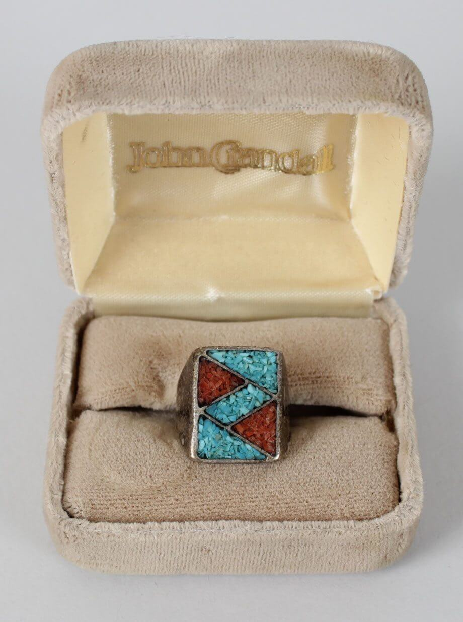 Motley Crue - Vince Neil's First Turquoise Worn Personal Ring Pre-Fame Days (Provenance LOA)