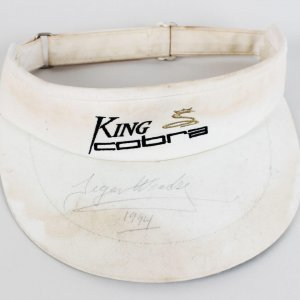 1994 Tiger Woods Pre-Rookie Signed King Cobra Visor