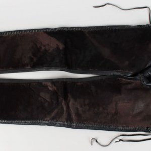 Motley Crue Vince Neil Stage Worn Dr. Feel Good Tour Leather Pants -Provenance Sharise Neil