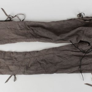 Motley Crue - Vince Neil Personal Worn Custom Suede Rock 'n' Roll Pants (Provenance LOA)