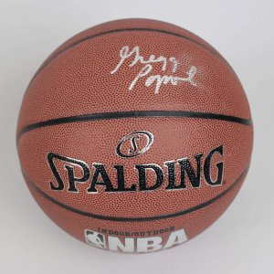 San Antonio Spurs Coach - Greg Popovich Signed Basketball - JSA