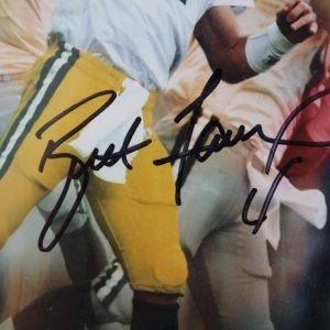 Green Bay Packers Brett Favre Signed 8x10 Photo COA