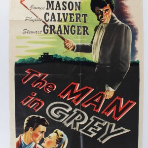 Man in Gray Original Movie Poster One Sheet with James Mason