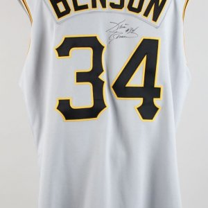Pittsburgh Pirates- Kris Benson Game-Worn Signed Jersey (COA)