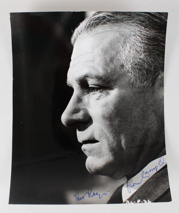 Actor - Laurence Olivier Signed 8x10 Photo (JSA)
