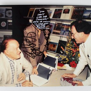 Bob Hope Signed 8x10 Photo (JSA)