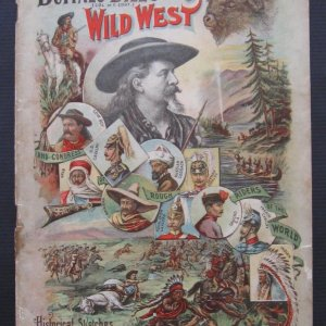 "Rare 1895 William Cody ""Buffalo Bill's Wild West and Rough Riders"" Program"
