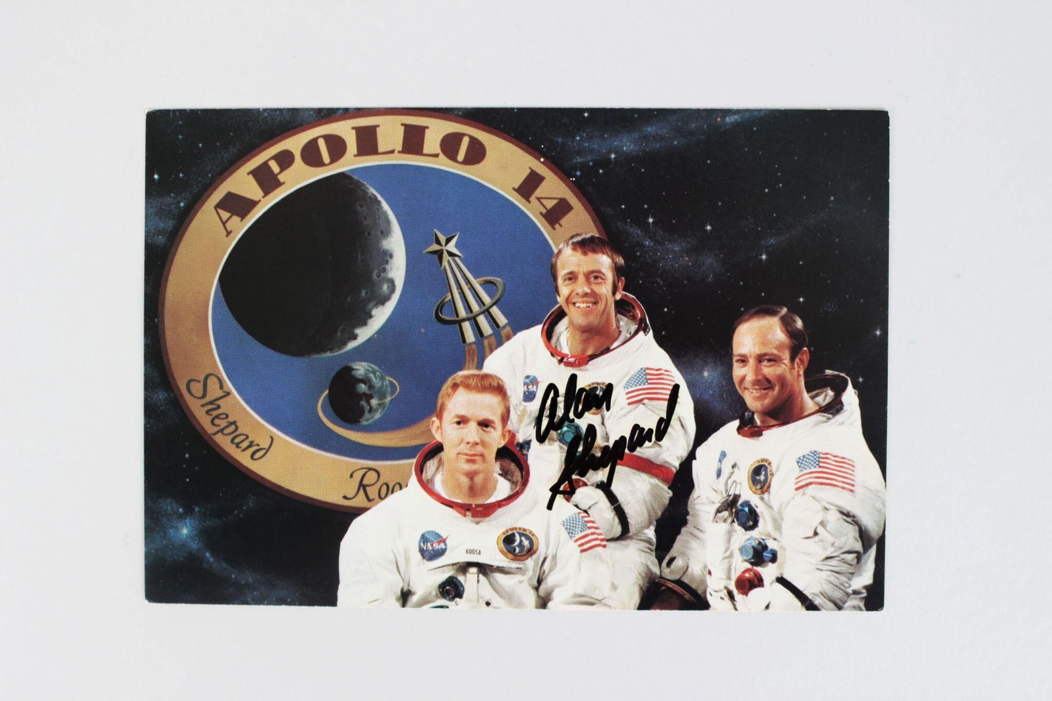 Alan Shepard Signed Photo - JSA