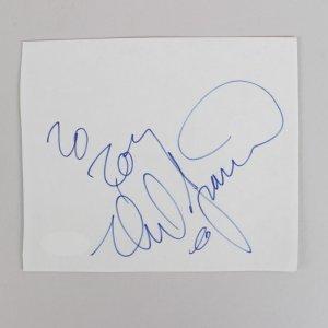 Musician - Neil Diamond Signed 4x5 Cut (JSA)
