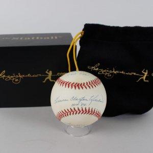 Twins - Harmon Killebrew Signed OML (Selig) 14 Stats Baseball (COA)