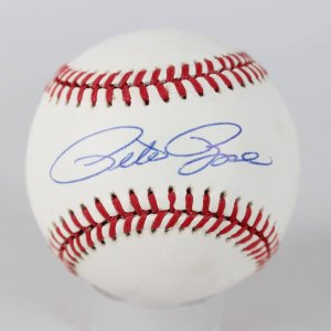 Cincinnati Reds - Pete Rose Signed ONL Baseball (JSA COA)