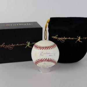Angles - Rod Carew Signed & Inscribed LE 724/1000 OML Baseball (COA)