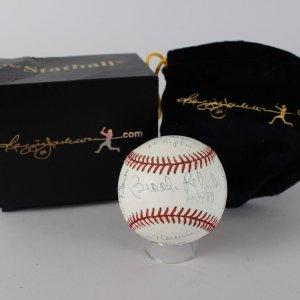 Orioles - Brooks Robinson Signed & Inscribed LE 275/1000 OML Baseball (COA)