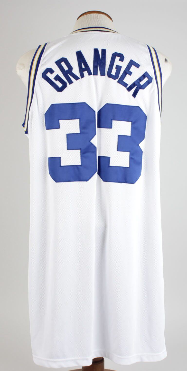 official photos 99ad1 926dc 2008-09 Indiana Pacers - Danny Granger Game-Worn Pacers 1967-68 Throwback  Jersey