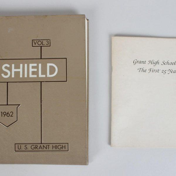 1962 U. S. Grant High School Shield Yearbook Tom Selleck & Monkees Micky Dolenz