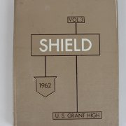 1962 U. S. Grant High School Shield Yearbook Tom Selleck & Monkees Micky Dolenz