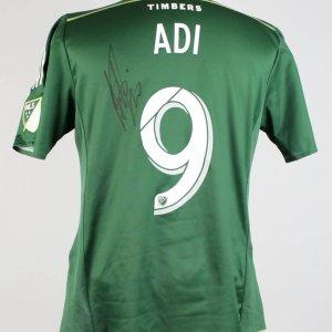 Sept. 16, 2015 - Columbus Crew vs. Portland Timbers Fanendo Adi Match Worn, Signed Jersey