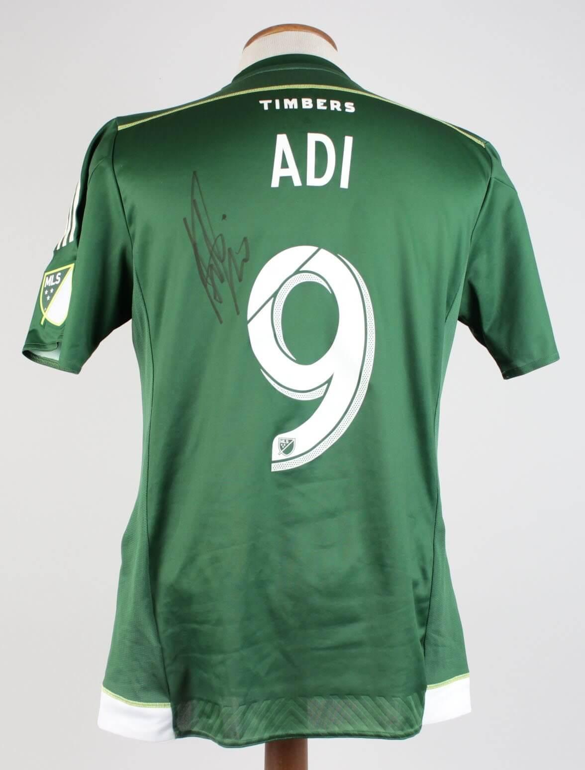 2015 Portland Timbers Fanendo Adi Match Worn, Signed Jersey Vs. Columbus Crew on Sept. 1653132_01