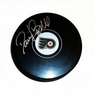 Philadelphia Flyers Danny Briere signed puck