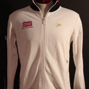 An Andy Murray Game-Used Great Britain Davis Cup Team Jacket.  2013 Davis Cup.