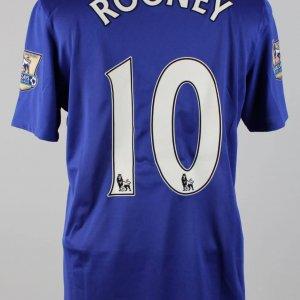 2008-09 English Premier League - Manchester United - Wayne Rooney Match-Worn Shirt