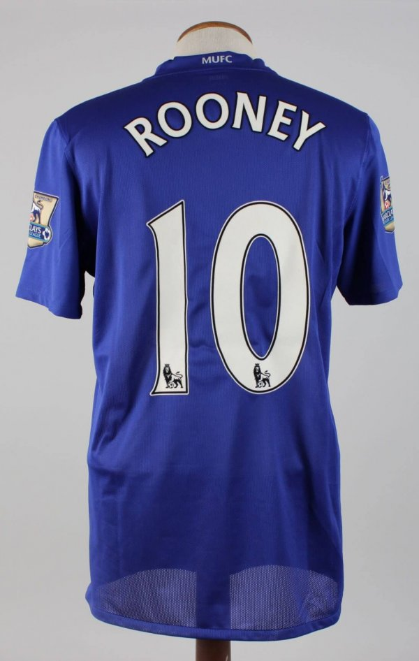 Wayne Rooney Match Worn Shirt