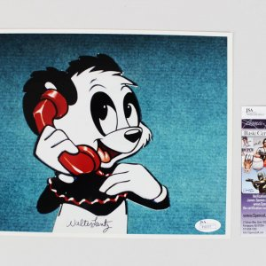 Cartoonist - Walter Lantz Signed 8x10 Andy Panda Photo (JSA COA)